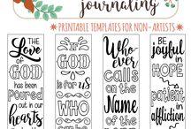 BIBLE - Journaling