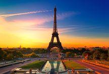 Где хочу побывать. / Список мест на планете, которые я хочу посетить.