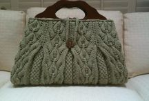bags & purses crocheted or knitted / by Beverley Gillanders