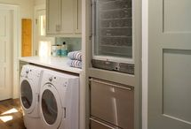 Laundry and Project Rooms