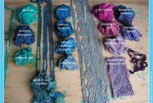 окрашивание ткани