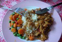 Indonesische gerechten.