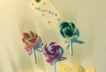 Creare una spilla fai da te / Creare una spilla fai da te a forma di lecca lecca.  Idea creativa per fare dei semplici bijoux handmade.  #mycandycountry #bijoux #lollipop #diycrafts #spille #faidate  Seguimi su: www.mycandycountry.it