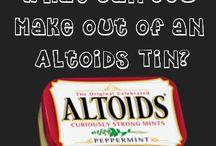 Altoids tins / by Steph Bargainfun