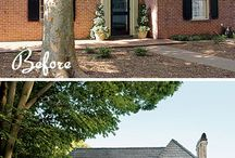 Brick Exterior Makeovers