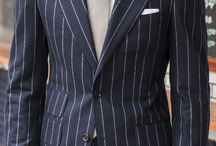 Man in a Striped Suit
