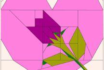 Blomst / Patchwork