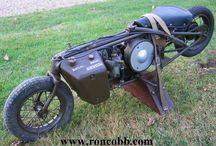 WWII Motorcycle / All 2 wheel on WWII