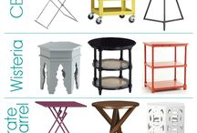 accent tables / by Eileen Roberts