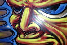Baryiers art by Baz / Graffiti Visionary Artist