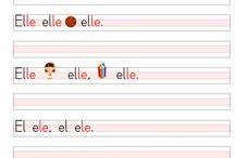 1. Sınıf Okuma Yazma Düz Yazı Elakin Ses Grubu / 1. Sınıf Okuma Yazma Çalışmaları