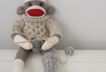 sock monkey / by Charlotte Moore