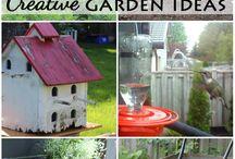Ihania ideoita muilta puutarhureilta