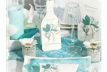 Tischideen / Ideen und Anregungen zum Schmücken der Tische für die Hochzeitsfeier