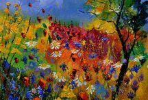 Painting. Pol Ledent