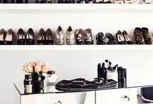 shoes storage wall