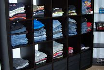 Never Fold Clothes Again / Tidy Snap helps kids organize their clothes themselves so you'll never fold clothes again!
