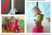 Paper Roll and Cardboard Crafts