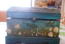 deniz temalı dekor