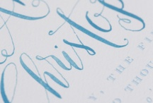 カリグラフィー&タイポグラフィー//calligraphy & typography