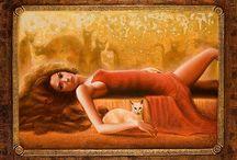 ❤ ~  Women &  Cats ~ ❤ / Обыкновенных кошек, как и обыкновенных женщин, не бывает.Коллет