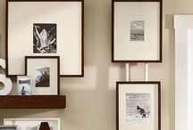 Organize picture wall