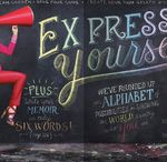 Chalk Lettering / by Ana