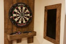 Dart Board and score board