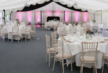 Marquee Receptions / Images from wedding receptions and private parties hosted within our luxurious marquee...