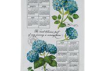Kay Dee Designs 2015 Calendar Kitchen Towels