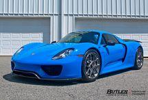 Voodoo Blue Porsche