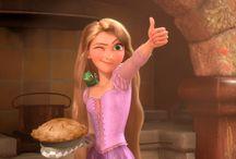 Disney Princesses: holiday work 2014