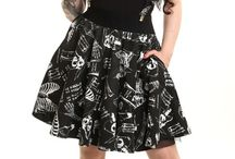 Leggings Skirts and Pants / Goth Nugoth Psychobilly Horror Leggings Skirts Pants