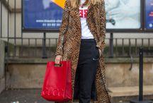 Leopard print coat looks