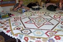 Hexagones &english paper pieced
