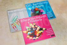 Editorial: catálogos, libros y folletos / Catálogos y portadas. Maquetación y diseño. Funcionalidad y estética.