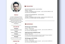Design Resume / Collection of remarkably smart resume templates Simple to Edit   Microsoft Word Ready   Creative Designs Invite