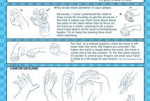 como sibujar manos