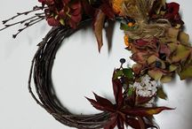 Wreath autumn