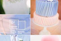 Pastel esküvő