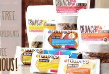 Rawxies Healthy Treats / Gluten Free Raw snacks for a Healthy Life, proud Health & Wellmobile Sponsor!