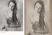 Vintage frames photo overlays / vintage photo overlay, vintage frame, photography overlay, old paper, frames overlay, overlays for photographer