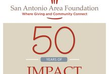Celebrating Our 50th Anniversary in 2014 / The San Antonio Area Foundation celebrates its 50th anniversary in 2014.  Join us as we reflect on our history and our vision for even greater impact on our community as we grow with it.