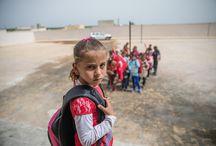 Terörden temizlenen Afrin'de çocuklar ders başı yaptı