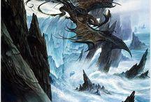 c o n c e p t; dragons