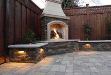 Outdoor Fire Rustic Modern