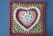Crochet Squares / Crochet granny squares and other squares.