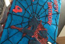 Taarten / Spidermantaart