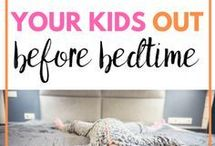 Bedtime Routines / A good bedtime routine can help your child to unwind and relax.  It can also help make bedtime calm. #HarassedMom #bedtimeroutine #bedtime #baby #parenting