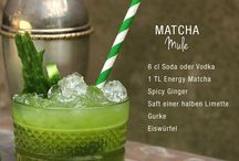 "Matcha Cocktail ""Matcharita"" / Coole Drinks mit dem grünen Energie Bringer Matcha"